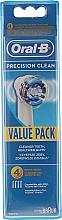 Voňavky, Parfémy, kozmetika Vymeniteľná tryska pre elektrickú zubnú kefku, 4ks - Oral-B EB20 Precision clean