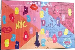 """Voňavky, Parfémy, kozmetika Sada """"Adventný kalendár 2020"""" - Maybelline Advent Calendar 2020"""