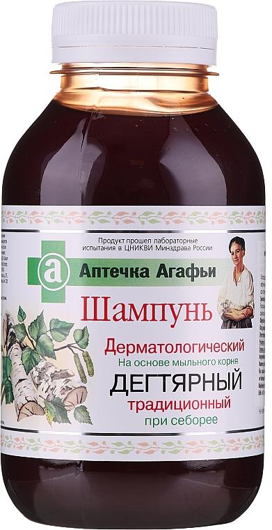 Dermatologický dechtový šampón - Recepty babičky Agafy Lekárnička Agafy