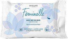 Voňavky, Parfémy, kozmetika Osviežujúce obrúsky na intímnu hygienu - Oriflame Feminelle Refreshing Intimate Wipes