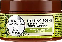 Voňavky, Parfémy, kozmetika Salátový peeling s makadamovým olejom - GlySkinCare Macadamia Oil Salt Scrub
