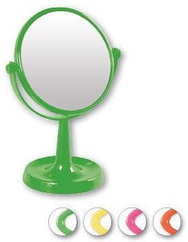 Zrkadlo na stojane 85734, okrúhle, 15,5 cm, svetlo zelené - Top Choice Colours Mirror — Obrázky N1