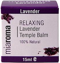Voňavky, Parfémy, kozmetika Balzam na tvár s levanduľovým éterickým olejom - Holland & Barrett Miaroma Relaxing Lavender Temple Balm