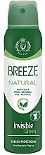 Voňavky, Parfémy, kozmetika Breeze Deo Spray Natural Essence - Dezodorant na telo