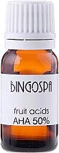 Voňavky, Parfémy, kozmetika Olej na ovocných kyselín AHA 50% - BingoSpa
