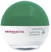 Upokojujúci a hydratačný krém s konopným olejom - Dermacol Cannabis Hydrating Cream — Obrázky N2