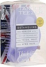 Voňavky, Parfémy, kozmetika Kefa na husté a vlnité vlasy, fialová - Tangle Teezer Detangling Thick & Curly Lilac Fondant
