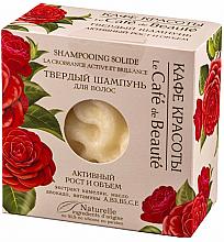 """Voňavky, Parfémy, kozmetika Tuhý šampón """"Aktívny rast a objem"""" - Le Cafe de Beaute Solid Shampoo"""
