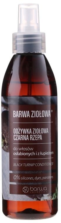 Kondicionér pre poškodené vlasy s extraktom z čiernej repy - Barwa Herbal Black Turnip Conditioner