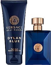 Voňavky, Parfémy, kozmetika Versace Pour Homme Dylan Blue - Sada (edt/100ml + sh/gel/100ml)