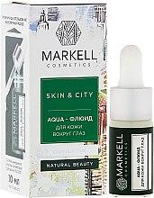 "Voňavky, Parfémy, kozmetika Aqua-fluid pre pokožku okolo očí ""Snehová huba"" - Markell Cosmetics Skin&City Face Mask"