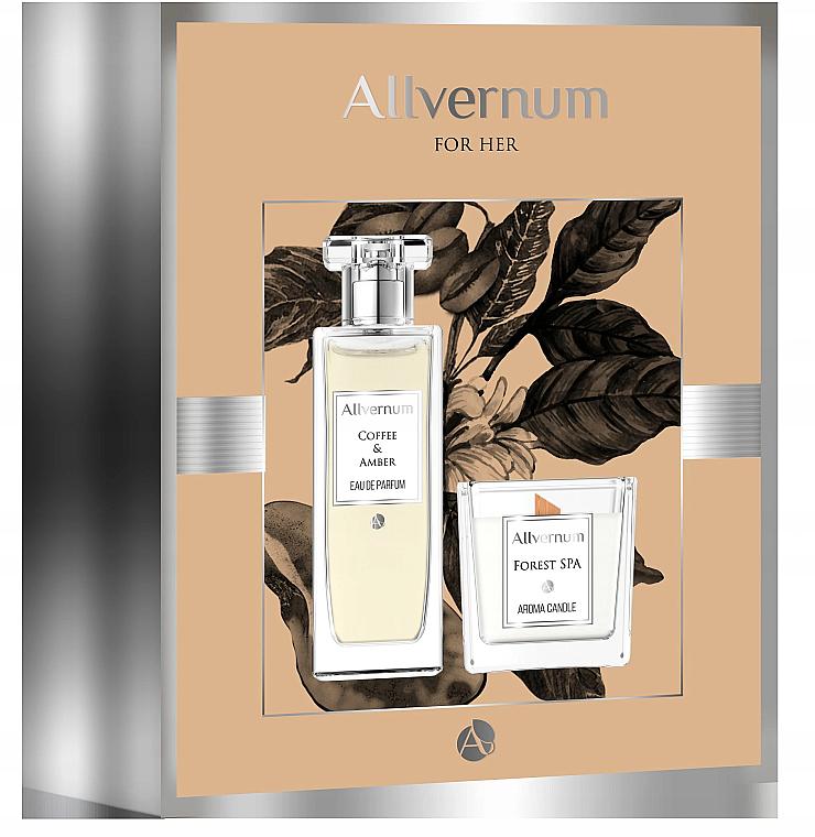 Allvernum Coffee & Amber - Sada (edp/50ml + candle/100g)