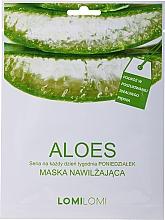 Voňavky, Parfémy, kozmetika Pleťová maska s aloe - LomiLomi Mask Aloe