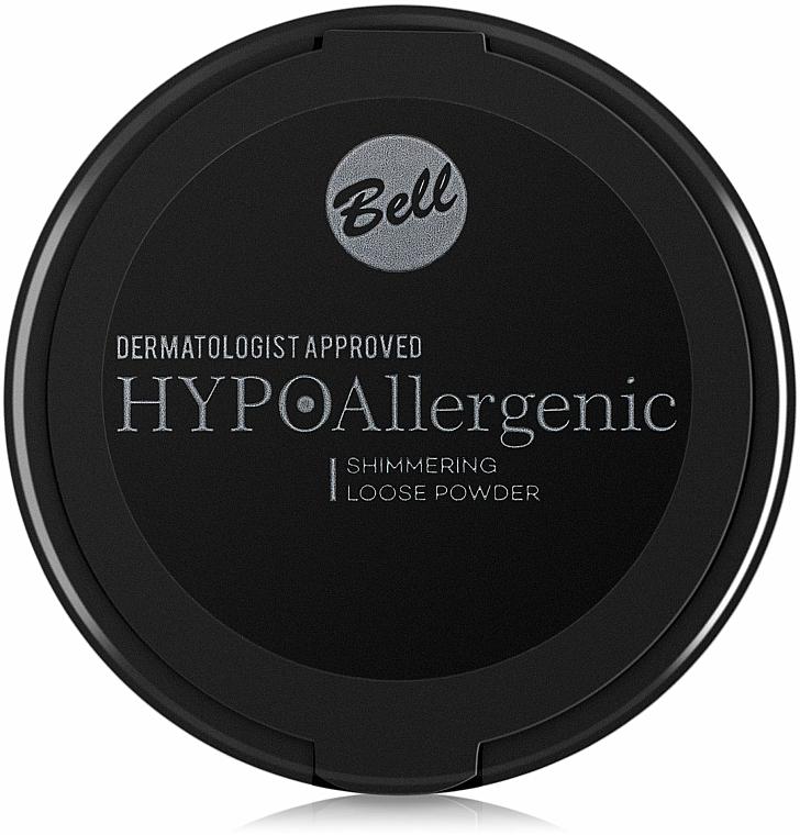 Púder hypoalergénny bronzer so žiarivým efektom - Bell HypoAllergenic Shimmering Loose Powder — Obrázky N2