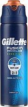Voňavky, Parfémy, kozmetika Holiaci gél pre citlivú pokožku - Gillette Fusion ProGlide Sensitive Cool & Fresh Shave Gel