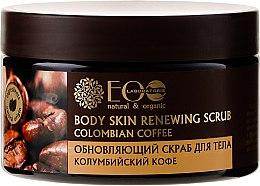 """Voňavky, Parfémy, kozmetika Obnovujúci peeling pre telo """"Kolumbijská káva"""" - ECO Laboratorie"""