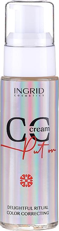 Tónovací CC krém - Ingrid Cosmetics CC Cream Put On Delightful Ritual Color Correcting