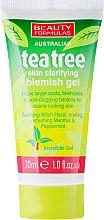 """Voňavky, Parfémy, kozmetika Protizápalový gél na tvár """"Čajové drevo"""" - Beauty Formulas Tea Tree Skin Clarifying Blemish Gel"""