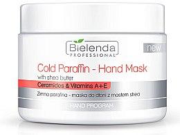Voňavky, Parfémy, kozmetika Studená parafínová maska na ruky s bambuckým maslom - Bielenda Professional Cold Paraffin Hand Mask With Shea Butter (400 g)