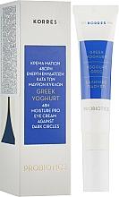 Voňavky, Parfémy, kozmetika Grécky jogurtový hydratačný krém na oči - Korres Greek Yogurt Eye Cream