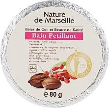 Voňavky, Parfémy, kozmetika Kúpeľová bomba s vôňou bobúľ goji a bambuckým maslom - Nature de Marseille Goji&Shea Butter