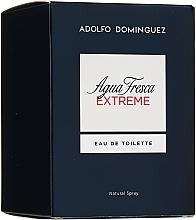 Voňavky, Parfémy, kozmetika Adolfo Dominguez Agua Fresca Extreme - Toaletná voda