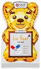 Voňavky, Parfémy, kozmetika Maska na tvár vitamínová - SNP Ice Bear Vita Mask
