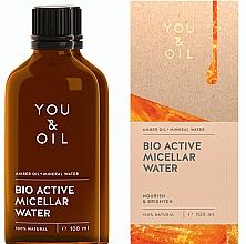 Voňavky, Parfémy, kozmetika Micelárna voda - You & Oil Amber. Bio Active Micellar Water