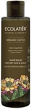 """Voňavky, Parfémy, kozmetika Balzam na vlasy """"Hladkosť a krása"""" - Ecolatier Organic Cactus Hair Balm For Dry Hair And Scalp"""