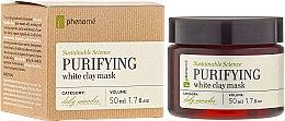 Voňavky, Parfémy, kozmetika Maska z bielej hliny - Phenome Sustainable Science Purifying White Clay Mask