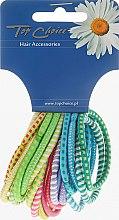 Voňavky, Parfémy, kozmetika Gumička do vlasov 20ks, mix farieb, 22166 - Top Choice