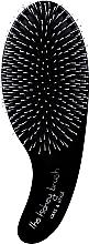 Voňavky, Parfémy, kozmetika Masážna kefa (kombinované štetiny) - Olivia Garden Kidney Brush Care & Style Black