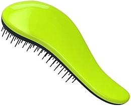 Voňavky, Parfémy, kozmetika Kefa na rozmotávanie vlasov - KayPro Dtangler Green Black Brush