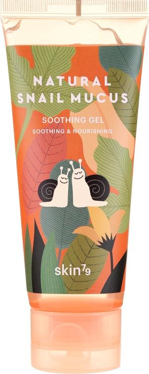 Upokojujúci gél so slimákovým slizom - Skin79 Natural Snail Mucus Soothing Gel