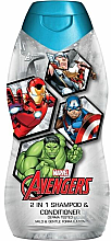 Voňavky, Parfémy, kozmetika Detský šampón-kondicionér - Corsair Marvel Avengers 2 in 1 Shampoo&Conditioner