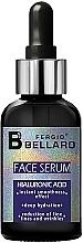 Voňavky, Parfémy, kozmetika Sérum na tvár s kyselinou hyalurónovou - Fergio Bellaro Face Serum Hyaluronic Acid