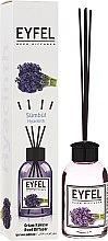 "Voňavky, Parfémy, kozmetika Aromatický difúzor ""Hyacint"" - Eyfel Perfume Reed Diffuser Hiacynt"