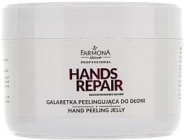 """Voňavky, Parfémy, kozmetika Peeling na ruky """"Broskyňové ručičky"""" - Farmona Farmona Brzoskwiniowe Dlonie"""