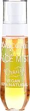 """Voňavky, Parfémy, kozmetika Sprej na tvár """"Citrus"""" - Nacomi Face Mist Orange"""