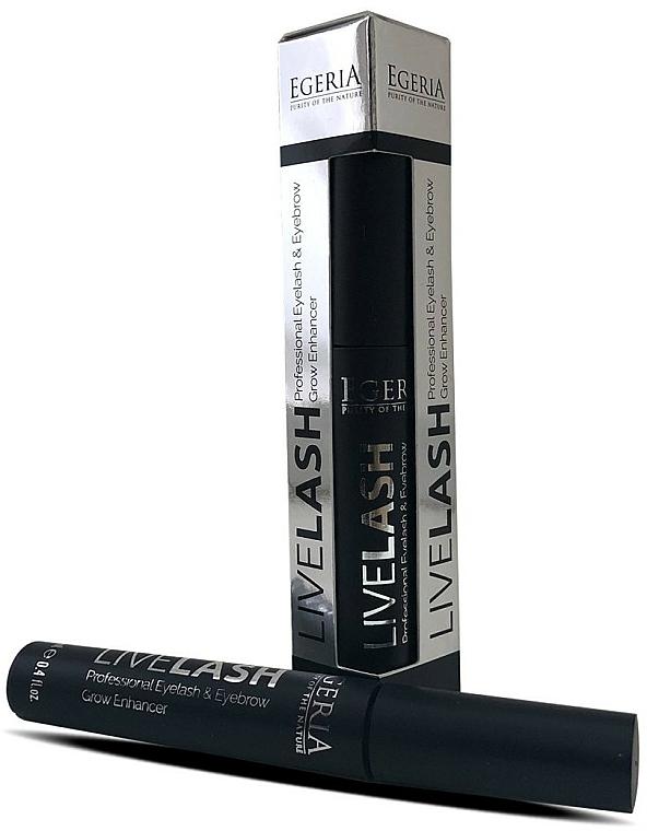 Sérum na obočie a mihalnice - Egeria Livelash Eyelash & Eyebrow Grow Enhancer