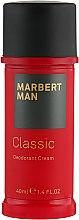 Voňavky, Parfémy, kozmetika Dezodoračný krém - Marbert Man Classic Deodorant Cream