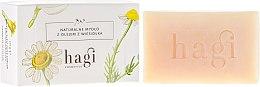 Voňavky, Parfémy, kozmetika Prírodné mydlo s extraktom z pupalky - Hagi Soap