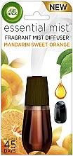 Voňavky, Parfémy, kozmetika Náhradná jednotka pre osviežovač vzduchu - Air Wick Essential Mist Mandarin & Sweet Orange