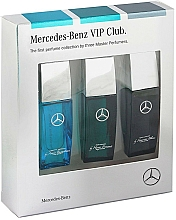 Voňavky, Parfémy, kozmetika Mercedes-Benz Perfume VIP Club - Sada (edt/3x7ml)