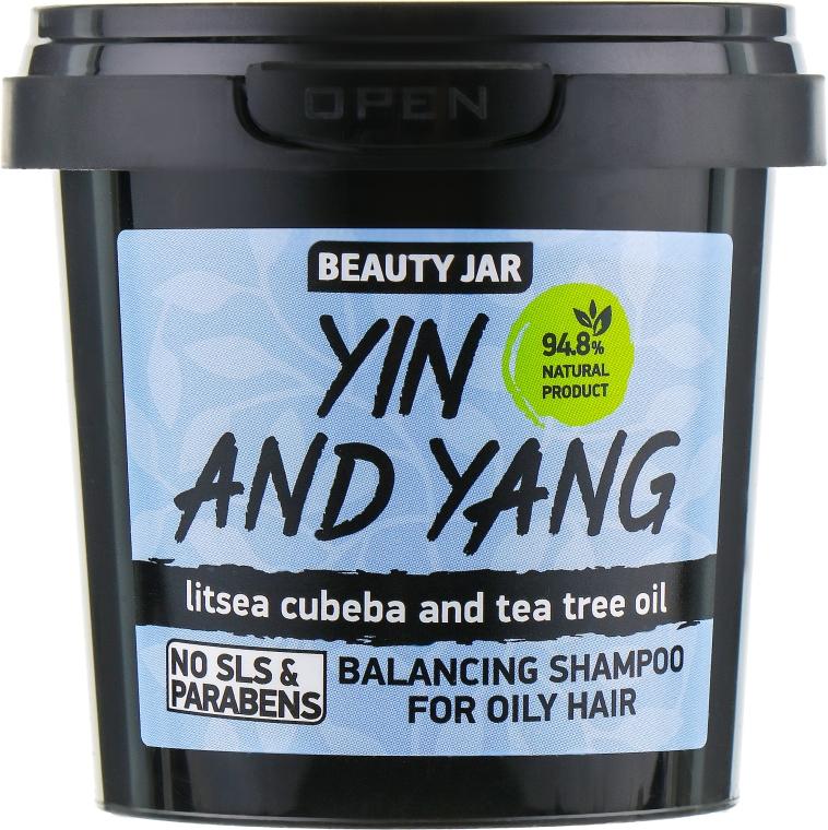 "Šampón pre mastné vlasy ""Yin and Yang"" - Beauty Jar Shampoo For Oily Hair"
