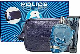 Voňavky, Parfémy, kozmetika Police To Be Men - Sada (edt/125ml + sh/gel/100ml + bag)
