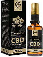 Voňavky, Parfémy, kozmetika Prírodný makadamiový olej CBD 250mg - Dr. T&J Bio Oil