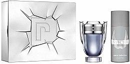 Voňavky, Parfémy, kozmetika Paco Rabanne Invictus - Sada (edt/100ml + deo/spr/150ml)