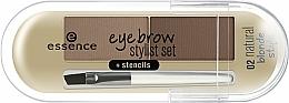 Voňavky, Parfémy, kozmetika Púder na obočie - Essence Eyebrow Stylist