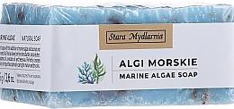 Voňavky, Parfémy, kozmetika Prírodné ručne vyrobené mydlo Morské riasy - Stara Mydlarnia Body Mania Algae Handmade Vegan Natural Soap